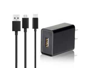 Fire Fast Charger UL Listed AC Adapter 2A Rapid Charger with 65 Ft Micro USB Cable Compatible with Fire 7 8 10 Tablet HDX 6quot 7quot 89quot 97quot and Phone Tab Power Supply Cord