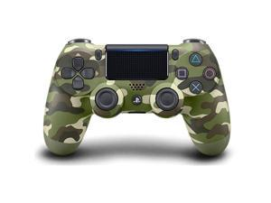 DualShock 4 Wireless Controller for  4 - Green Camouflage