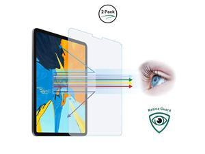 Anti Blue Light Tempered Glass Screen Protector2 Pack for iPad Air 1094th 2020iPad Pro 11inch2nd Gen 2020 1st Gen 2018Eye CareRelieve Eye FatigueBlocks Excessive Harmful Blue Light UV 9H AntiScratche