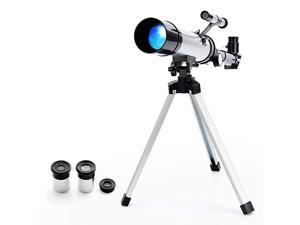 Star Finder with Tripod F36050 HD Zoom Monocular Space Astronomical Spotting Scope for Kids and Beginner Small