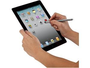 Stylus for iPad iPhone iPod Samsung Tablets Smartphones and Other Touch Screen Devices Gray AMM0109US