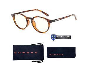 Reading Glasses   Blue Light Blocking Reading Glasses  Attache Pwr 2.50/Tortoise by Gunnar   35% Blue Light Protection, 100% UV Light, Anti-Reflective To Protect & Reduce Eye Strain & Dryness