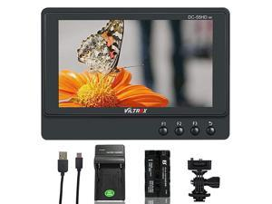 DC55HD 55inch 4K HDMI Field Monitor IPS 1920x1080 HDMI On Camera Video Monitor Lightweight Monitor for DSLRMirrorless Camera Includes NPF550 Battery amp Charger