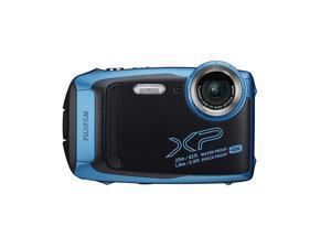 FinePix XP140 Waterproof Digital Camera w16GB SD Card Sky Blue