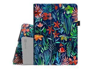 Case for iPad 97 20182017 iPad Air 2 iPad Air Corner Protection Premium Vegan Leather Folio Stand Cover Auto WakeSleep for iPad 6th 5th Gen iPad Air 12 Jungle Night