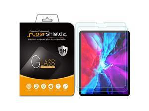 2 Pack)  Designed for Apple iPad Pro 12.9 inch (2021 2020 2018 Model, 4th/3rd Generation) Screen Protector, (Tempered Glass) 0.33mm, Anti Scratch, Bubble Free (Updated Version)