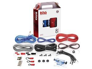 KIT2 8 Gauge Amplifier Installation Wiring Kit A Car Amplifier Wiring Kit Helps You Make Connections and Brings Power To Your Radio Subwoofers and Speakers