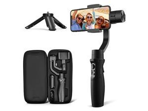 3Axis Gimbal Stabilizer for iPhone 11 PRO MAX X XR XS Smartphone Vlog Youtuber Live Video Record with Sport Inception Mode Face Object Tracking Motion TimeLapse  iSteady Mobile Plus