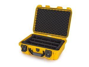 920 Waterproof Hard Case with Padded Dividers - Yellow