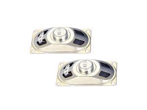 5W 8 Ohm DIY Speaker Replacement Loudspeaker 40mmx70mm 2pcs