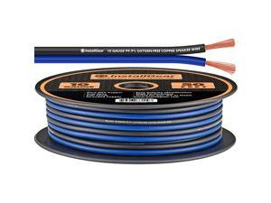10 Gauge Speaker Wire 999 OxygenFree Copper OFC BlueBlack 50feet