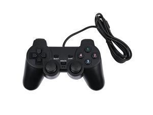 Wired Game Controllers for PC/Raspberry Pi Gamepad Remote Dual Shock Joysticks Joypad for PC(Windows XP/7/8/10) & Steam/Roblox/RetroPie/RecalBox