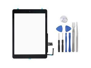 Screen Digitizer for iPad 6th Generation iPad 2018 Front Glass Replacement with Home Button amp Tool Repair Kit A1893 A1954