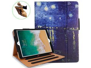 iPad 102 Case iPad 7th Generation Case with Pencil Holder MultiAngle Stand Hand Strap Auto SleepWake for iPad 7th Gen iPad 102 2019Rhone