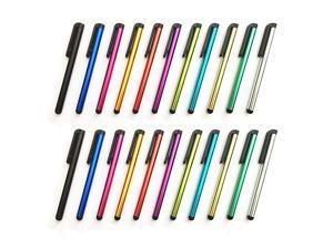 Stylus Pen Set of 22 Pack for Universal Touch Screens Devices Multicolors Capacitive Stylus for iPad iPhone Samsung Kindle Tablet