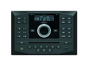 JWM62A AM FM DVD CD USB AUX App Ready Bluetooth Wallmount Stereo wApp Control 3Speaker Zones 8 Speaker Output 8X 6 Watt Receives Bluetooth Audio A2DP Controls AVRCP from Devices