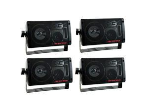 2060 600W 3-Way Car Audio Mini Box Speakers Stereo Indoor System