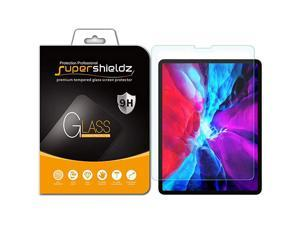 Designed for Apple New iPad Pro 12.9 inch (2021 2020 2018 Model, 4th/3rd Generation) Tempered Glass Screen Protector, 0.33mm, Anti Scratch, Bubble Free