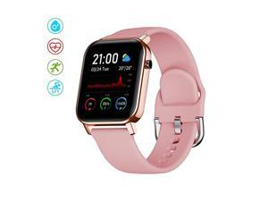 """Watch for Android and iOS Phone with 1.4"""" Touch Screen, Activity Fitness Tracker Heart Rate Sleep Monitor,IP68 Waterproof Pedometer watch Step Counter for Women and Men"""
