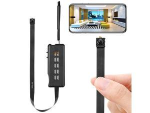 Camera Module Wireless Hidden Camera WiFi Mini Cam HD 1080P DIY Tiny Cams Small Nanny Cameras Home Security Live Streaming Through Android/iOS App Motion Detection Alerts