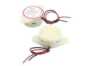 2pcs HYT3015B DC 324V 80dB Intermittent Sound Piezoelectric Buzzer