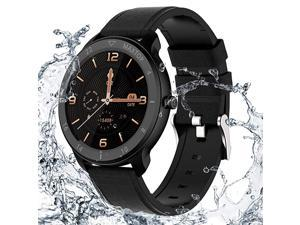 T9 Smart Watch Whole Touch Screen IP68 Waterproof Health and Sports Android Smart Watch for Men and Women Compatible with iPhone and Android Phones