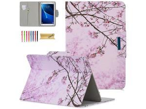 Universal Case for 7585 Inch Tablet Slim Light Pretty Folio Pocket Stand Case Cover for iPad Mini 79 Inch 2019SamsungKindleHuaweiLenovoNookAndroid 80 84 InchPink Floral