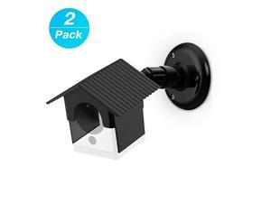 Mount Bracket for Wyze Camera, Weather Proof 360 Degree Protective Adjustable Indoor and Outdoor Mount Cover Case for WyzeCam 1080p Smart Camera and Spot Camera Anti-Sun Glare UV Protection (Black) …