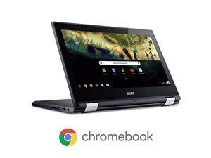 Chromebook R 11 Convertible Laptop Celeron N3060 116quot HD Touch 4GB DDR3L 32GB eMMC C738TC7KD