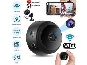 Spy Camera Wireless Hidden HD 1080P Small Security Video Camera Mini Nany Cam with Night Vision and Motion Activated Indoor Use Security Cameras Surveillance Cam for Car Home Office