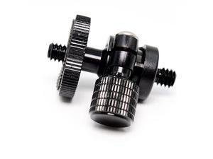 Mini Ballhead Camera Tripod Ball Head Mount and 14 to 14 Connector 14 to 14 Connector