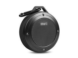 Bluetooth Speaker  F10 Portable Speaker with Enhanced 3D Stereo Bass Sound IP56 Dustproof Waterproof 10Hour Playtime Builtin Mic Micro SD Card Slot USB Audio Input