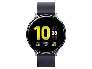 Galaxy Active 2 Smartwatch 44mm with Extra Charging Cable, Black - SM-R820NZKCXAR (Renewed)