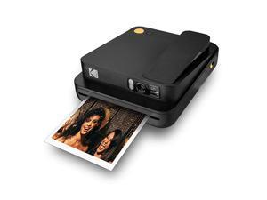 KODAK Smile Classic Digital Instant Camera for 35 x 425  Photo Paper Bluetooth 16MP Pictures Black