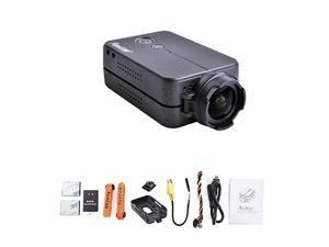 2 FPV Camera 1080P60fps Ultra HD Mini WiFi Sports Action Video Camera Black