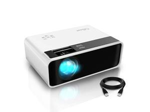 Mini Projector  Video Projector Outdoor Movie Projector 4500L LED Portable Home Theater Projector 1080P and 200 Supported Compatible with PS4 PC via HDMI VGA TF AV and USB