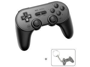 Pro Plus Wireless Controller for Nintendo Switch Bluetooth Controller Joystick with Turbo Vibration Gamepads for Steam MacOS PC Android amp Raspberry Pi Black