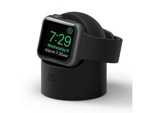 W2 Apple Watch Charger Stand Compatible with Apple Watch Series 6SE54321 44mm 42mm 40mm 38mm Black