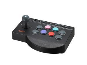 Fight Stick, PXN 0082 Wired Fighting Joystick, USB Fightstick Game Controller for PS3/ PS4/ Xbox One/Switch/Windows PC