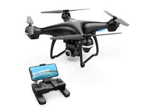 2K GPS FPV RC Drone HS100 with HD Camera Live Video and GPS Return Home, Large Quadcopter with Adjustable Wide-Angle Camera, Follow Me, Altitude Hold, 18 Minutes Flight, Long Control Range