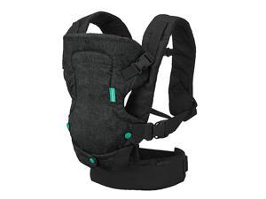 Flip 4in1 Carrier Ergonomic Convertible facein and faceOut Front and Back Carry for Newborns and Older Babies 832 lbs