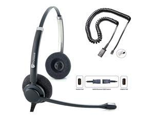HD150 Double Ear Headset with Noise Canceling Microphone amp U10 Adapter for All Cisco 6000 7800 and 8000 Series Phones and Models 7931 7940 7941 7942 7945 7960 7961 7962 7965 7970 7975