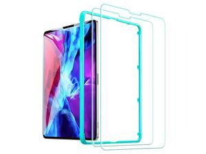 2-Pack) Screen Protector Comaptible with iPad Pro 12.9 [2021 & 2020 & 2018] [Face ID Compatible] [Free Installation Frame] 9H-Hard HD Clear Tempered-Glass Screen Protector for the iPad Pro 12.9-Inch