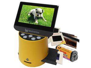 Titan 8in1 High Resolution Film to Digital Converter with 43quot Screen and HDMI Output Yellow
