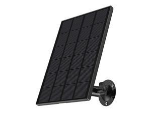 Solar Panel Power Supply Designed for  Outdoor WiFi Security Camera GX1SQ1Q1N