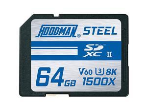 128GB Steel UHSII SDXC Memory Card