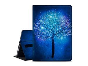 Smart Case for New iPad 7th Generation 102quot 2019 PU Leather Protective Smart Cover with Auto Sleep for New Apple iPad 7th Generation 102inch 2019 Release Fluorescenttree