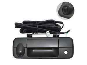 Replace Rear View Camera Backup Handle Camera for Toyota Tundra(2007 2008 2009 2010 2011 2012 2013),Door Handle Replacement Camera(Color: Black)