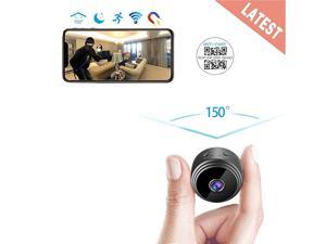 Spy Camera Wireless Hidden WiFi Mini Camera HD 1080P Portable Home Security Cameras Covert Nanny Cam Small Indoor Outdoor Video Recorder Motion Activated Night Vision A10 Plus 2021 Version