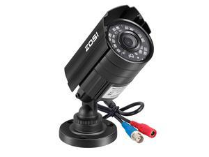 1080P HDTVI Security Camera for Home Office Surveillance CCTV System Bullet bnc Camera with Night Vision Black